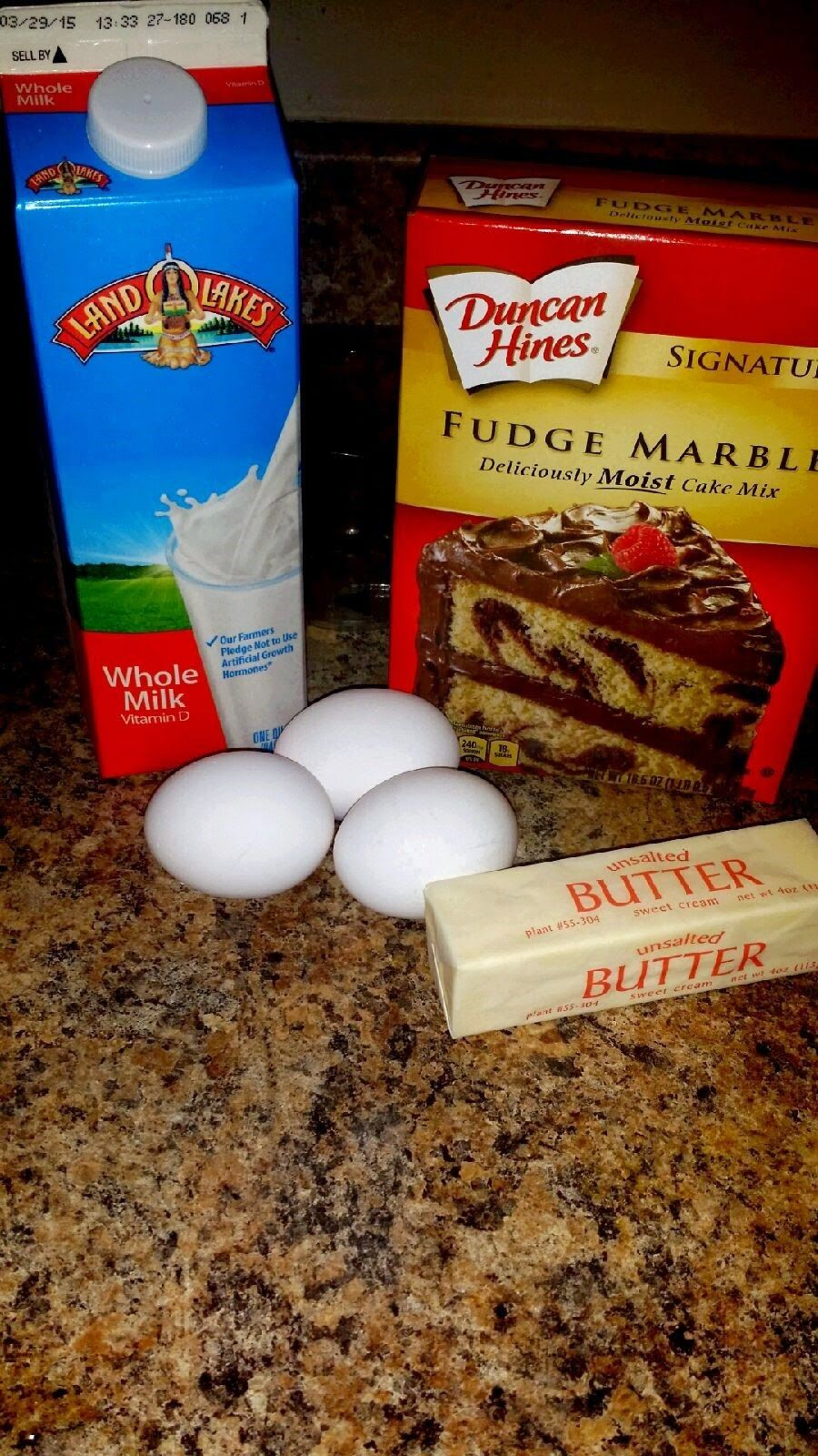How To Make Marble Cake From Box Mix