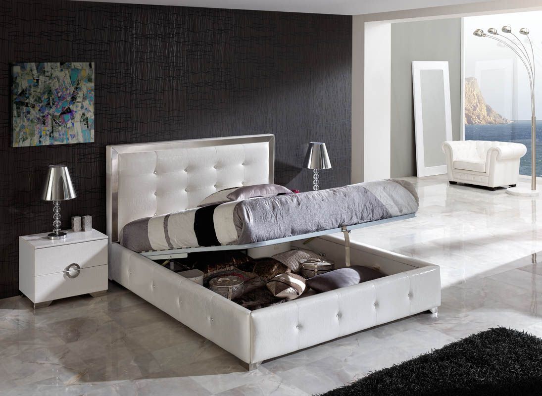 Bedroom Design Furniture Sets is part of Modern bedroom Storage - I love the look of this ultra white bedroom suite (though I may be a little nervous about having my morning coffee anywhere near it)  My favorite aspect  The (   )