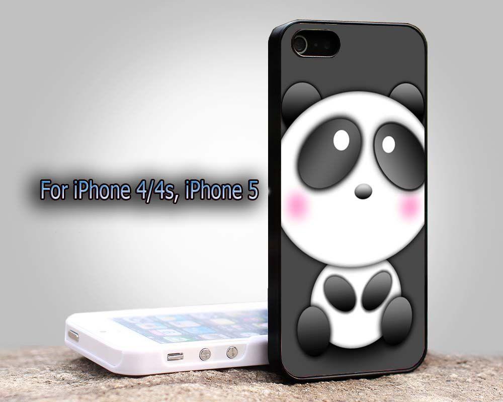 cute panda For Apple Phone, IPhone 4/4S Case, IPhone 5
