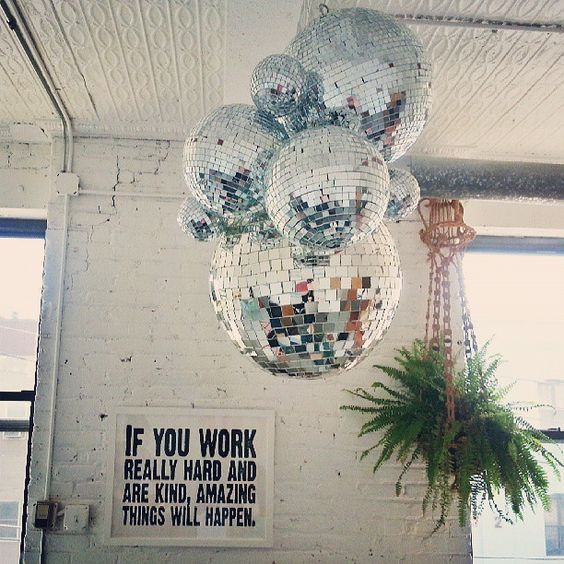 Disco Ball Party Decorations E826242Eee0B8D525003710A3B720Eb1 564×564  Abroad  Pinterest