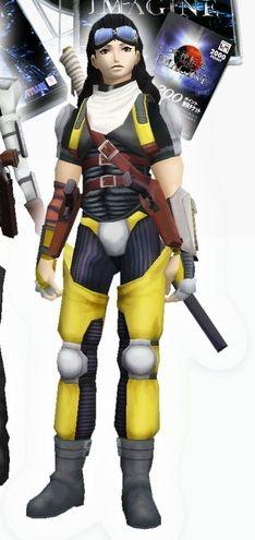 Aleph (SMTII protagonist) outfit in Shin Megami Tensei