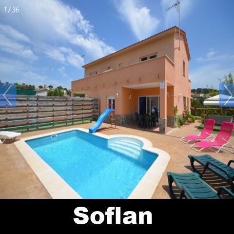 Vakantiehuis Vidreres Costa Brava Villa Spanje huren Soflan