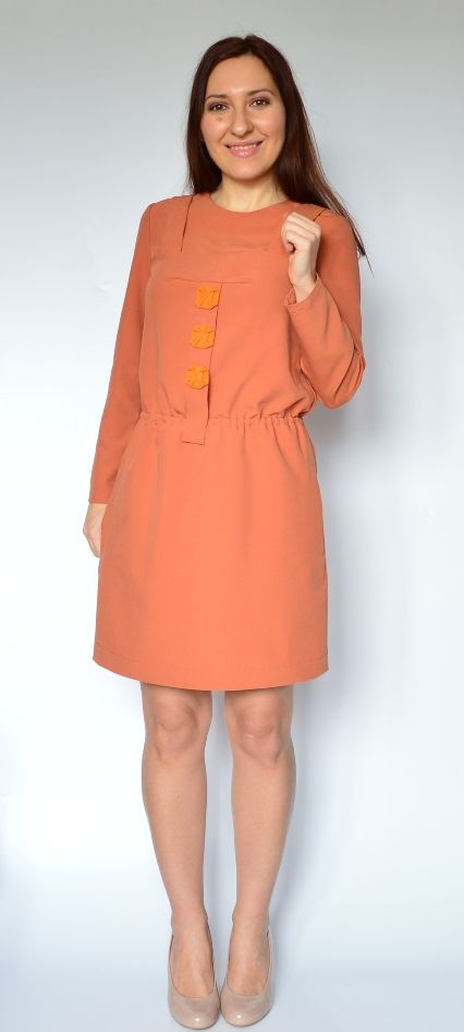 Платье по собственной выкройке