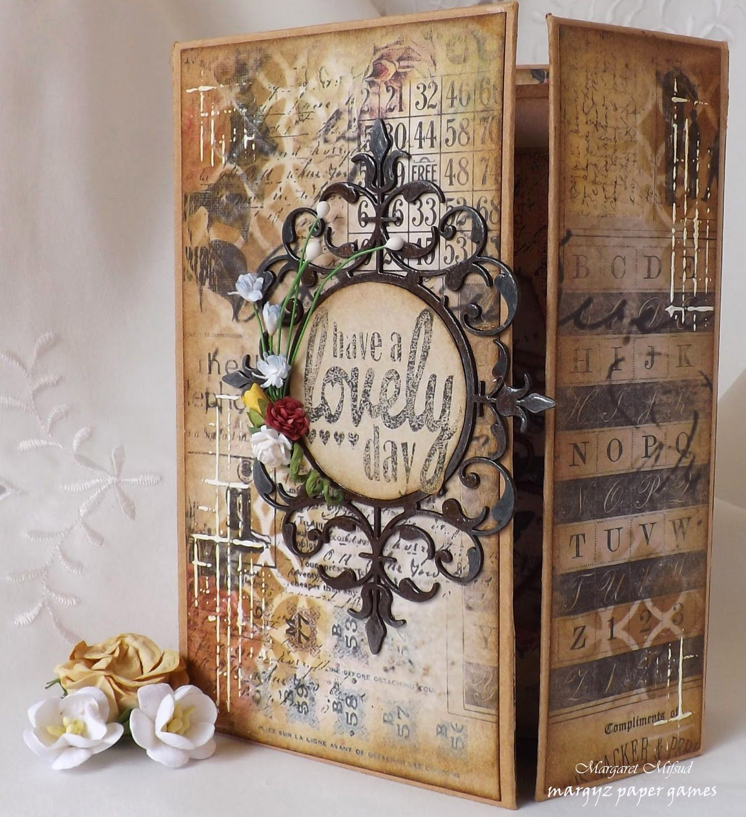2Crafty Chipboard November Project