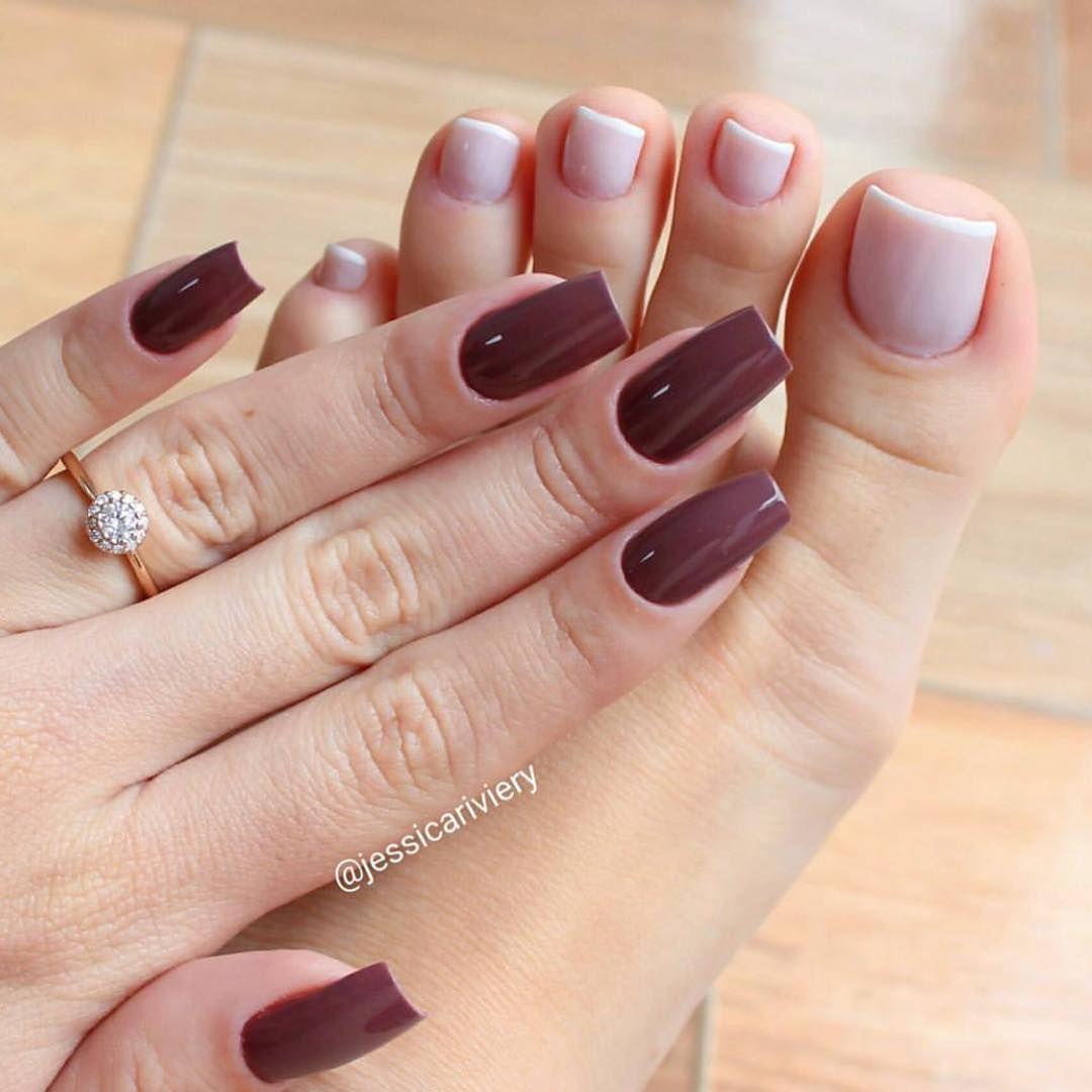 Esmalt | Elegant manicure, Toe nail color, Toe nails