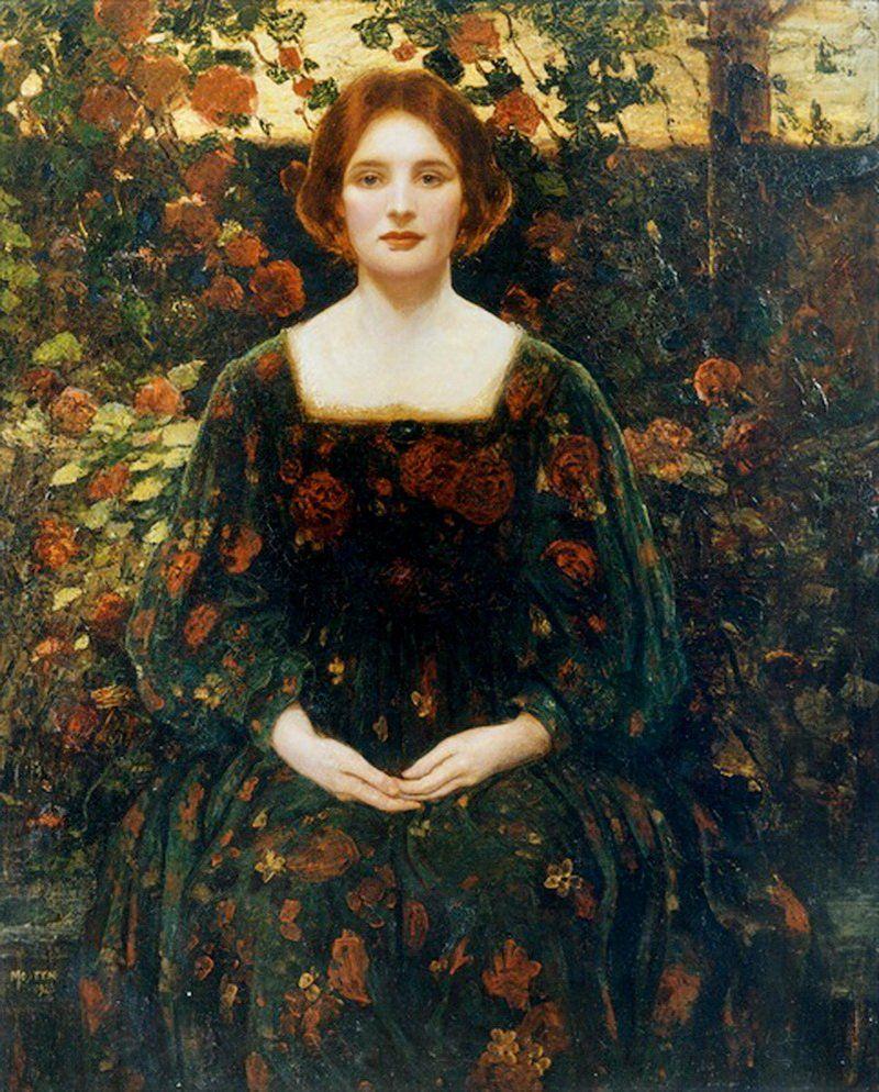 Joseph Kirkpatrick 1872 1930 Ophelia Pre Raphaelite Art