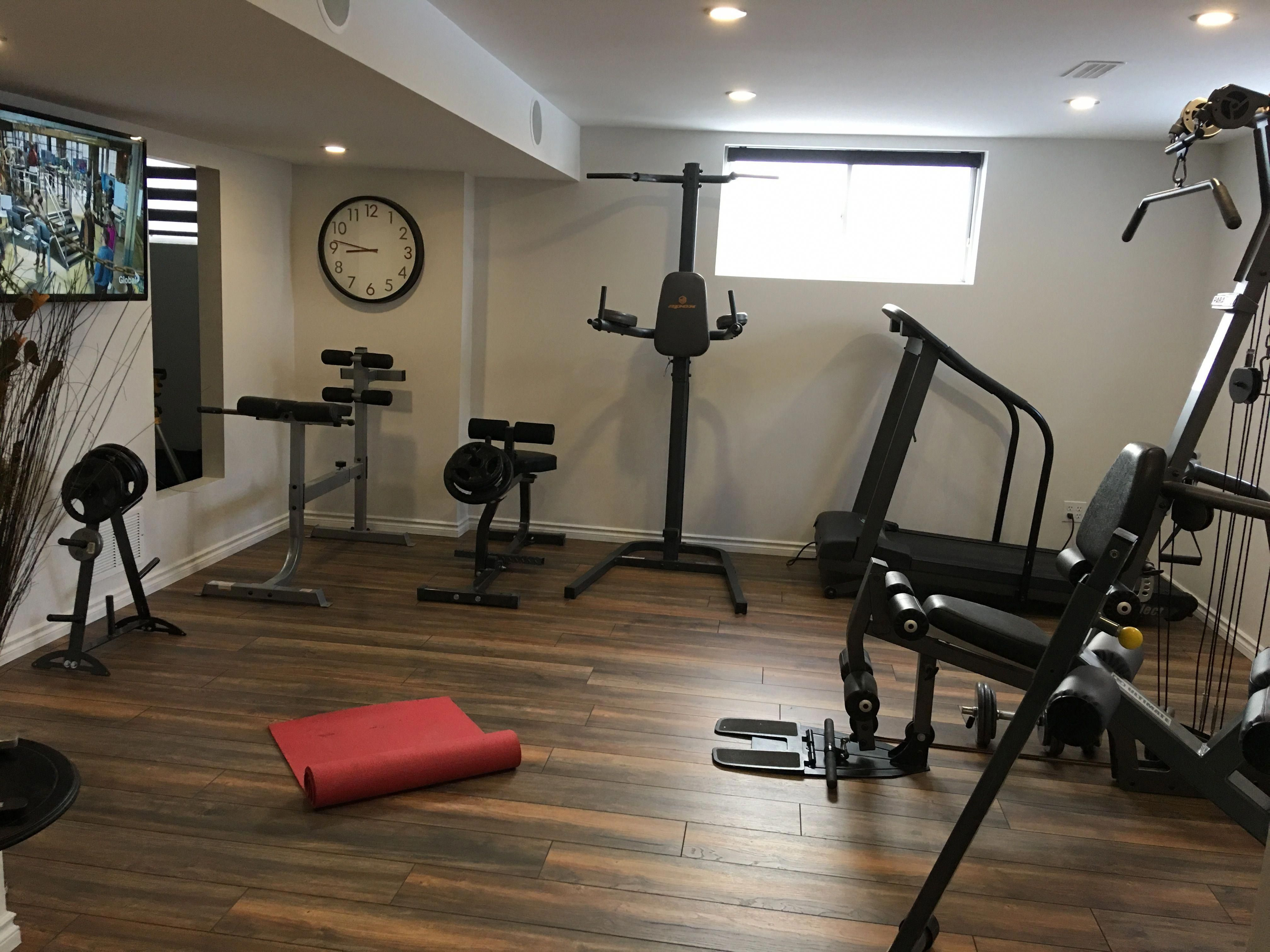 Low Ceilling Basement Low Ceiling Home Gym Decor Home Gym Design