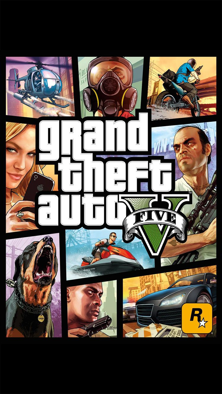 Grand Theft Auto V 5 Iphone 6 6 Plus Wallpaper Orang Anak Game