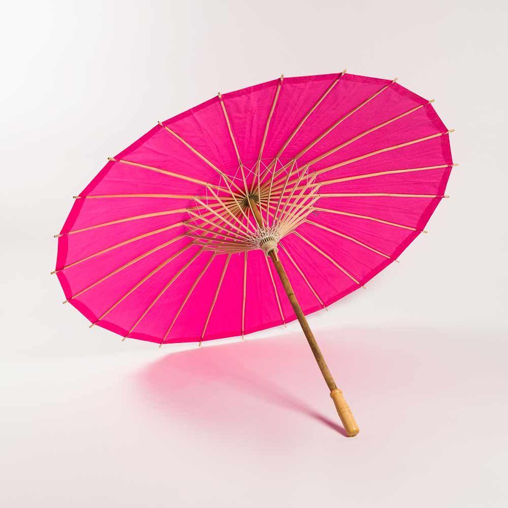 32 Fuchsia Hot Pink Paper Parasol Umbrella In 2018 Shopping