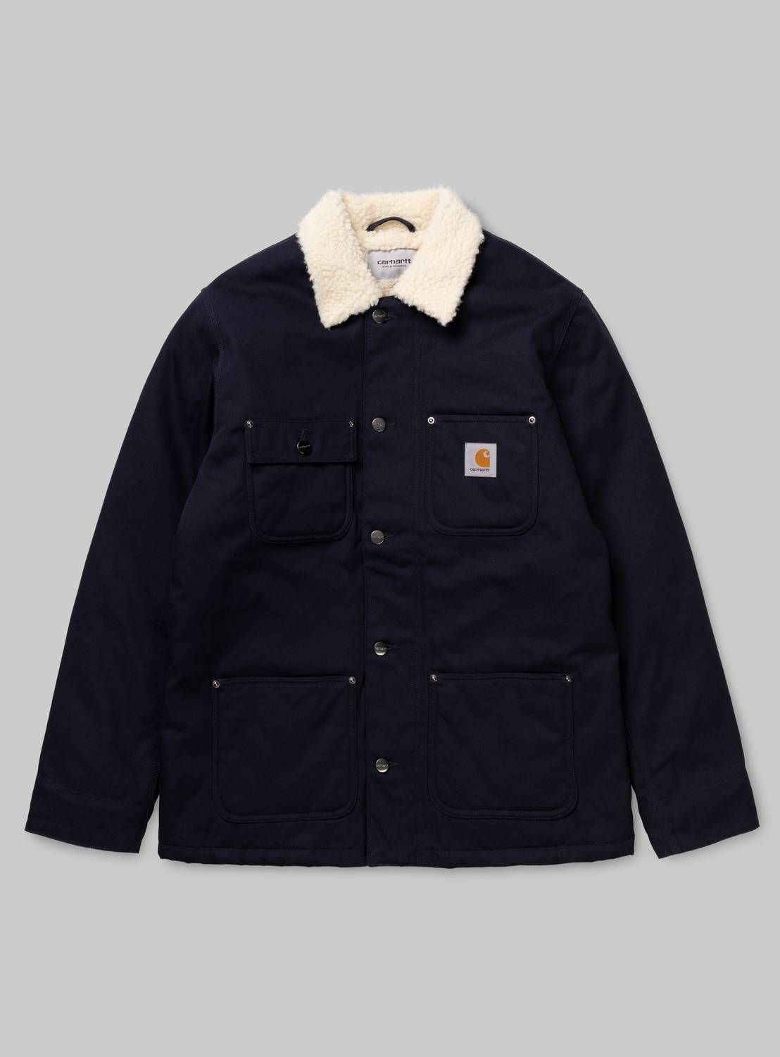 Man This One Carhartt Wip Fairmount Coat Dark Navy Summer Outfits Men Mens Casual Outfits Hoodie Fashion [ 1500 x 1108 Pixel ]