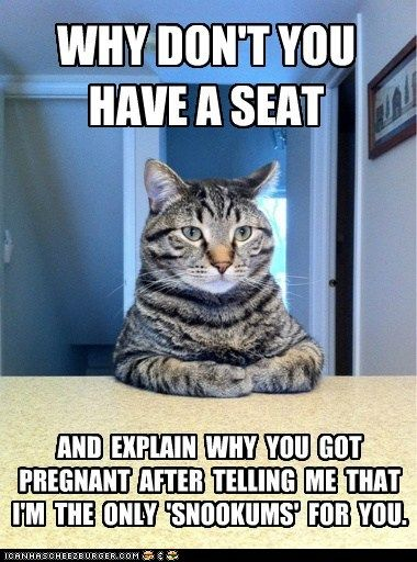 Funny Pregnancy Announcement Meme : Funny meme potential pregnancy announcement baby on the