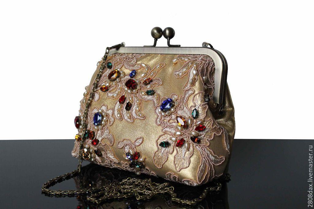 be1133782459 Женские сумки ручной работы. Ярмарка Мастеров - ручная работа. Купить  Вечерняя вышитая сумочка. Handmade. Клатч, маленькая сумочка
