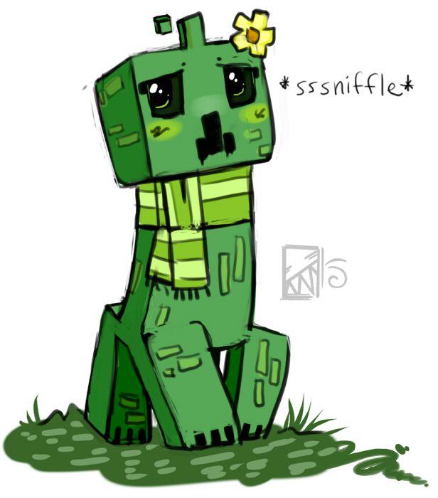 Minecraft Creeper Daisy By Kinla On Deviantart Mario Characters Creepers Cartoon