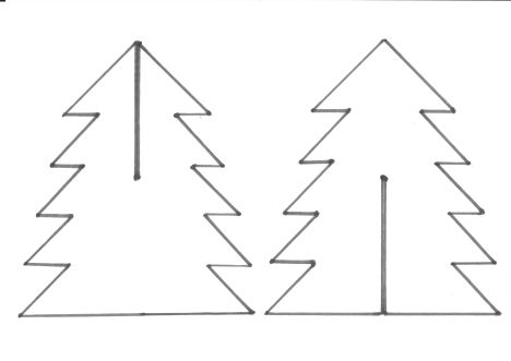 Kerstboompje Knutselen Tips Van Ingrid Kerstmis Knutselen Kerstboom Kerst Knutselen