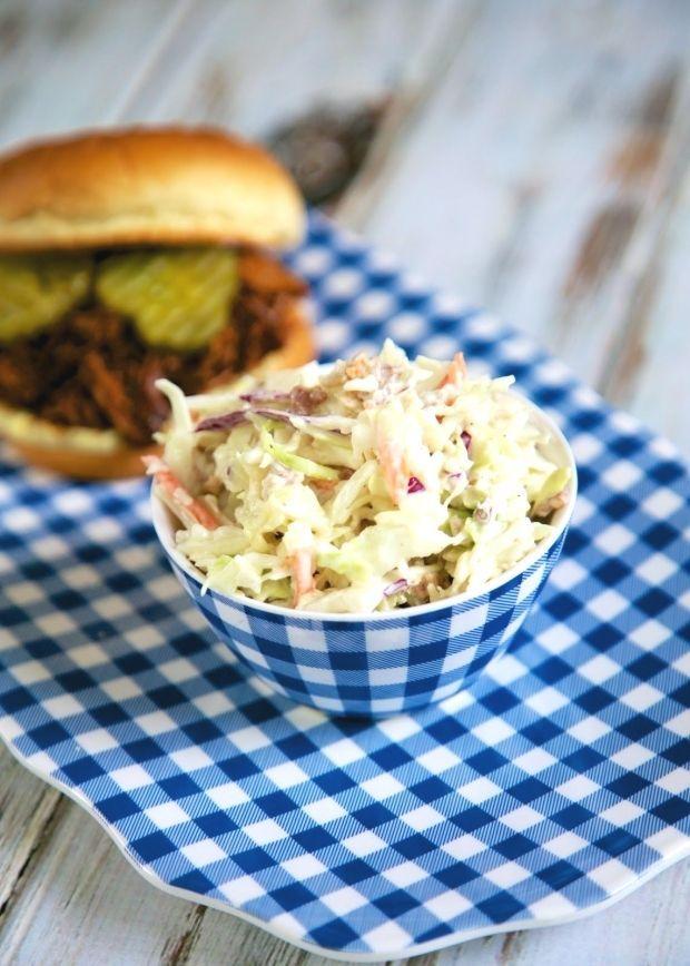 Quick Bacon Ranch Slaw | Plain Chicken