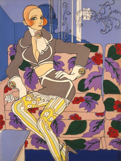 Antonio Lopez fashion illustration 1970s Antonio Lopez #Illustration, fashion illustration, fashion, art, illustration, drawing, painting