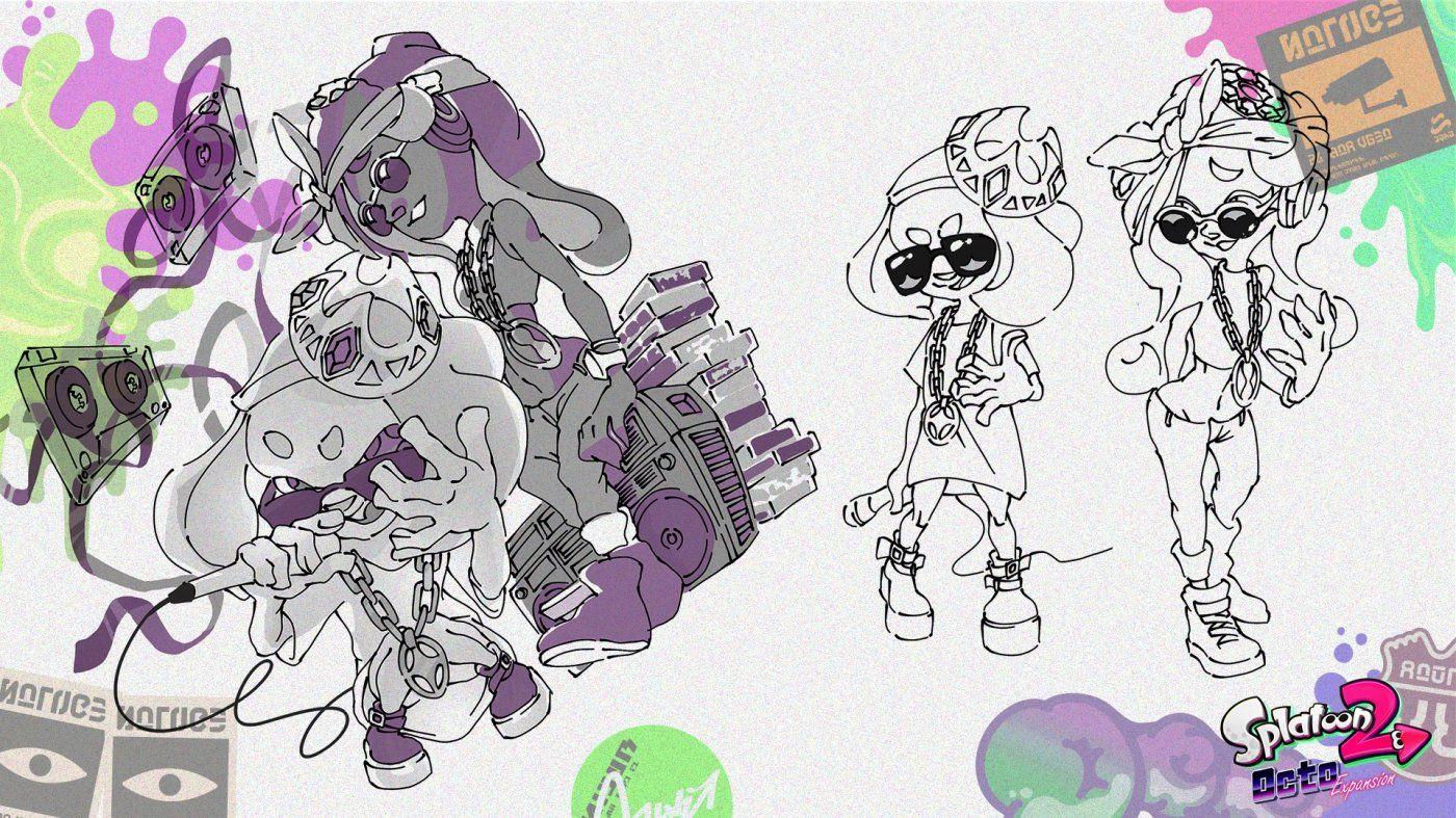 Splatoon 2 boy hairstyles splatoon  octo expansion in immagini scopriamo luespansione single