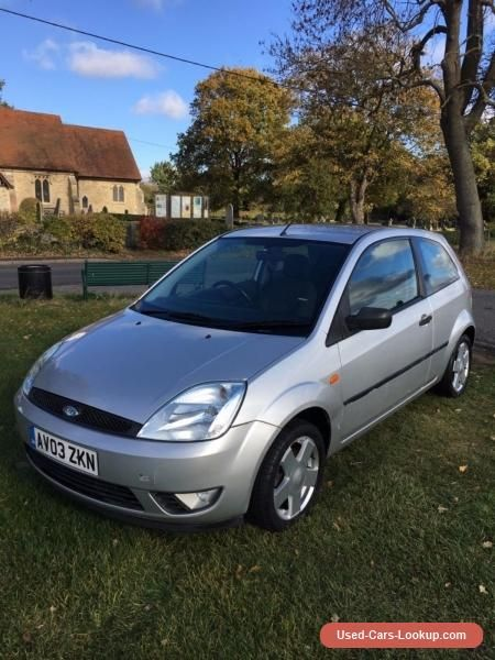 Ford Fiesta 1 4 Zetec 3dr Low Mileage Cheap Car Ford Fiesta