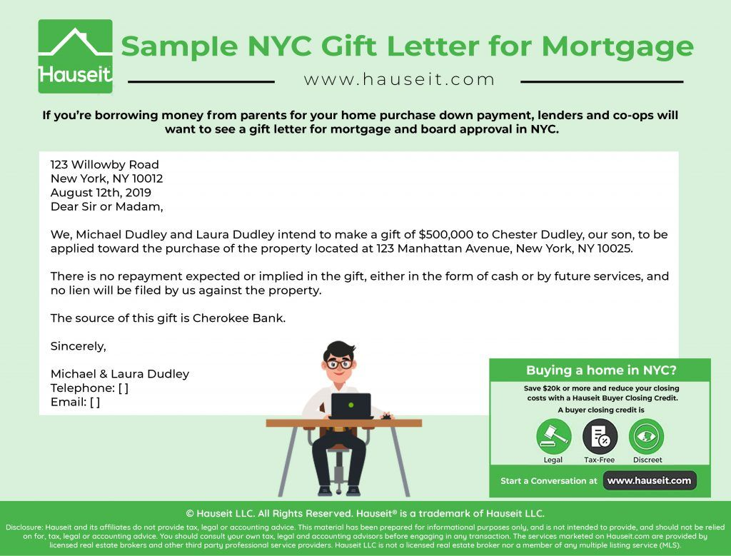 25+ Mortgage gift letter template pdf inspirations
