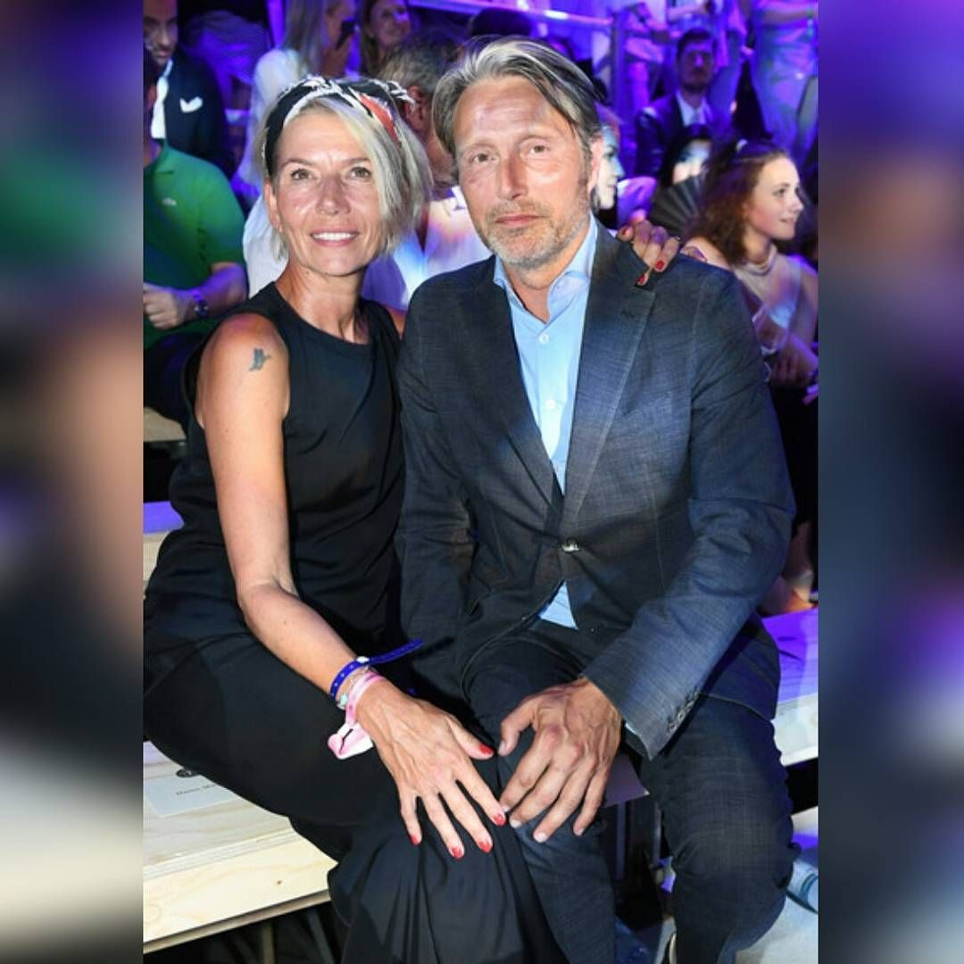 Marc O Polo Celebrates Its 50th Anniversary  • Mads Mikkelsen and his wife  Hanne Jacobsen attend the Fashion Show during the 50th Anniversary  Celebration of ... 54ea863d5aa4a