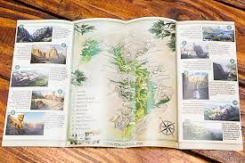 yellowstone national park brochure - Google Search