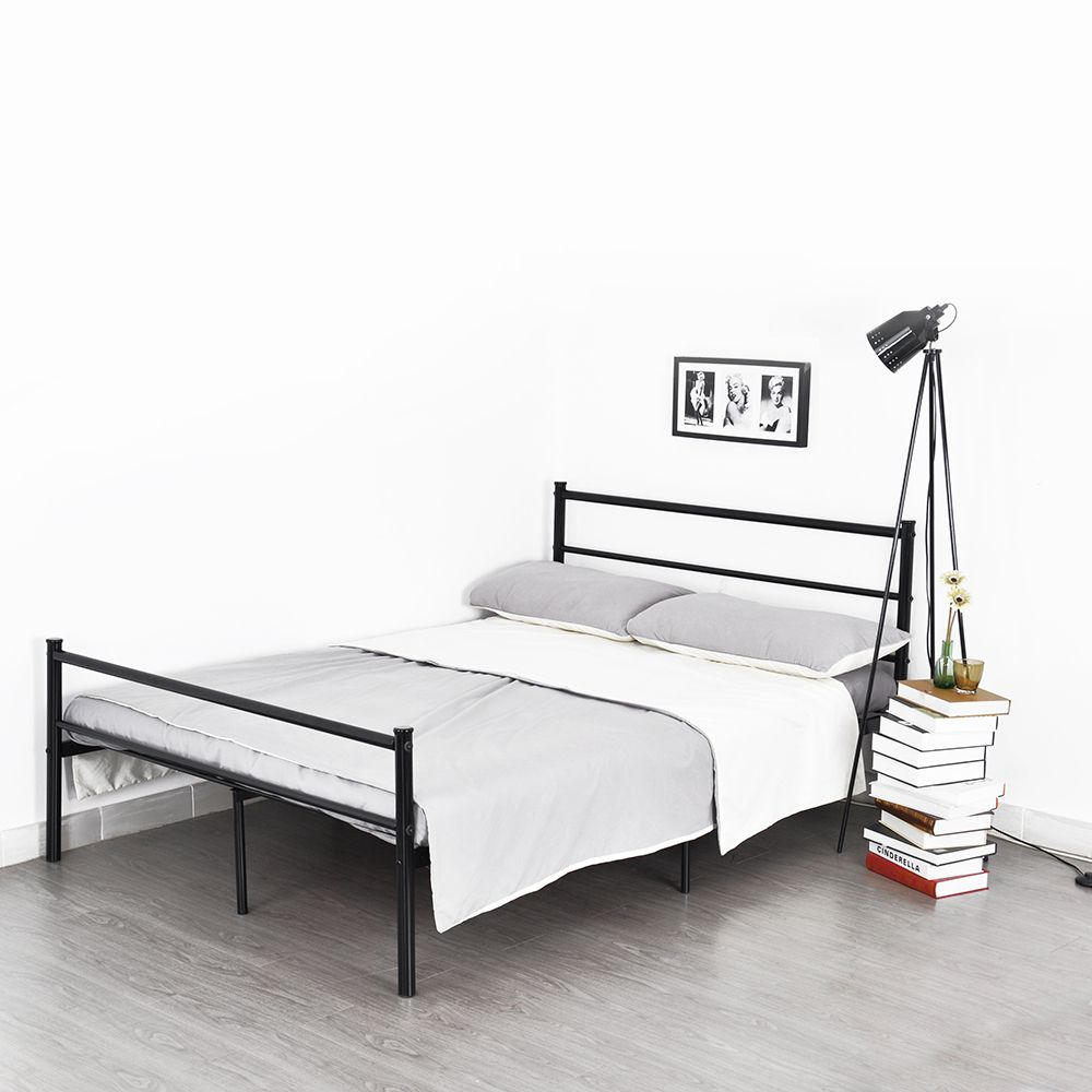 Aingoo structure stainless steel double bed frame goodlooking and