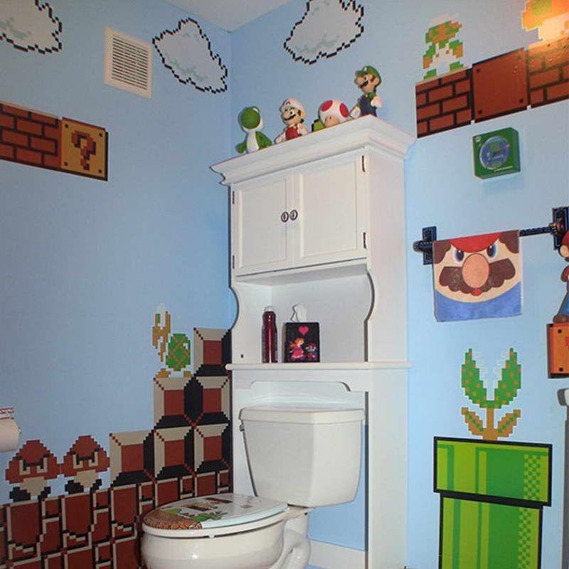 Mario Brothers Bedroom - Google Search