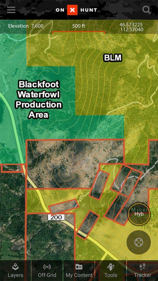 Best Hunting App Offline Land Ownership Hunting GPS Maps