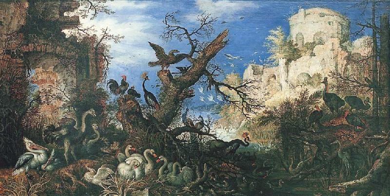 鳥のいる風景 ルーラント・サー...