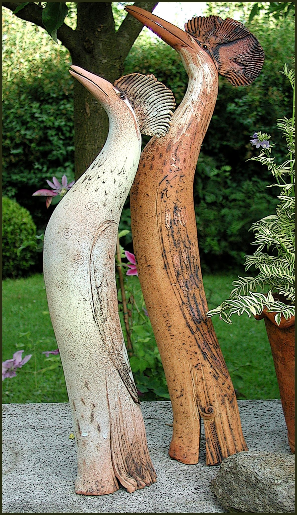V gel 2001 1 pottery handbuilding pinterest vogel keramik und keramik ideen - Keramik ideen ...