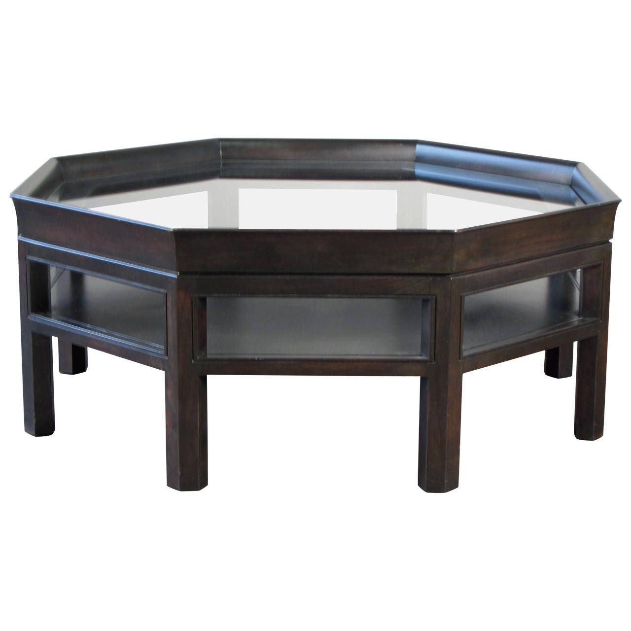 Simple Elegant Octagonal Coffee Table By Baker Furniture | From A Unique  Collection Of Antique And