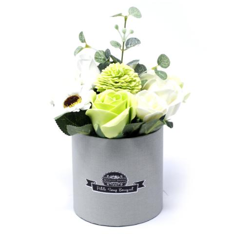 Pastel Green Soap Bouquet Petite Gift Pot In 2020 Green Soap