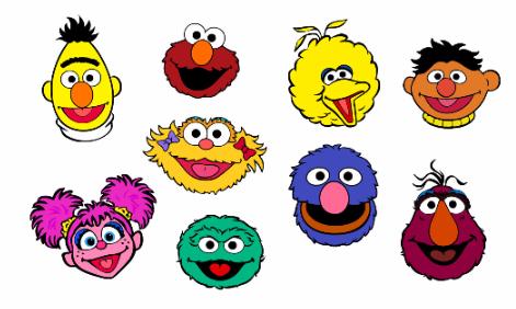 Sesame Street Characters Free Svg Files Sesame Street Birthday Party Ideas Boy Sesame Street Birthday Party Sesame Street