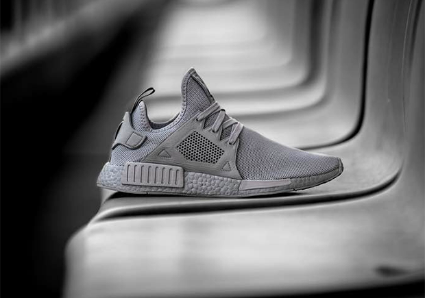 8a6ed6407f35 Colored Boost is coming back soon on a very impressive new edition of the adidas  NMD XR1 in a tonal grey upper and complementing silver midsole.
