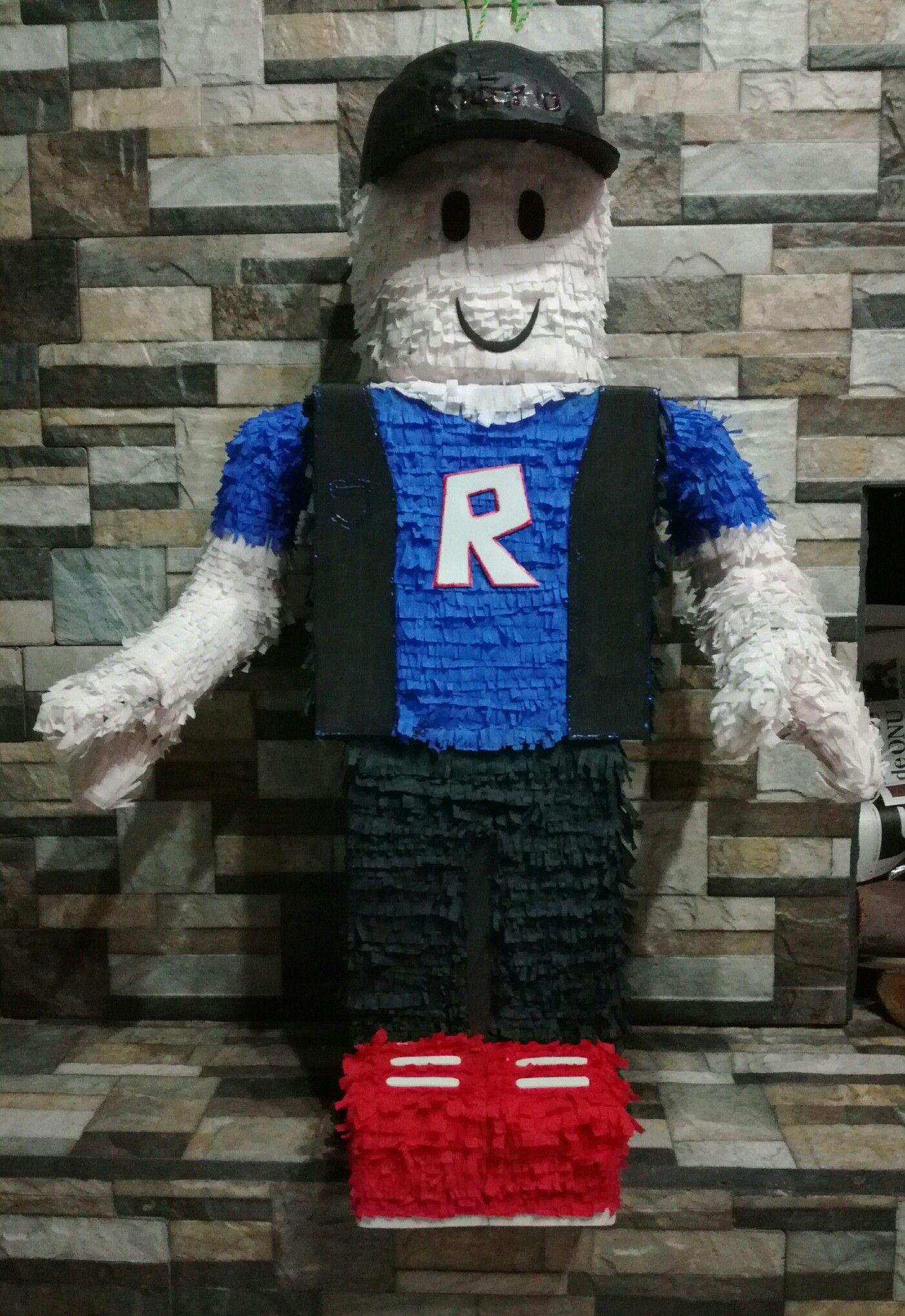 Piñata Roblox | Piñatas y Decoración | Fiestas temáticas, Dulceros