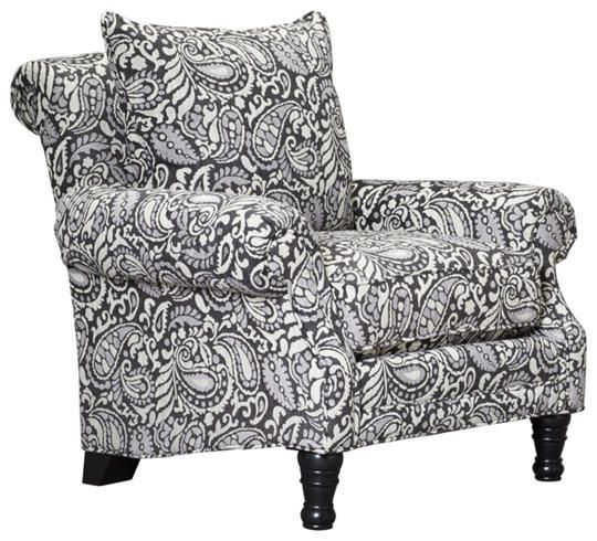 Best Lincoln Square Accent Chair Art Van Furniture White 400 x 300