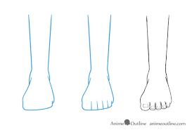 Image Result For Drawing Feet From The Front Tutoriais De Desenho A Lapis Tutoriais De Desenho Tutoriais Illustratores