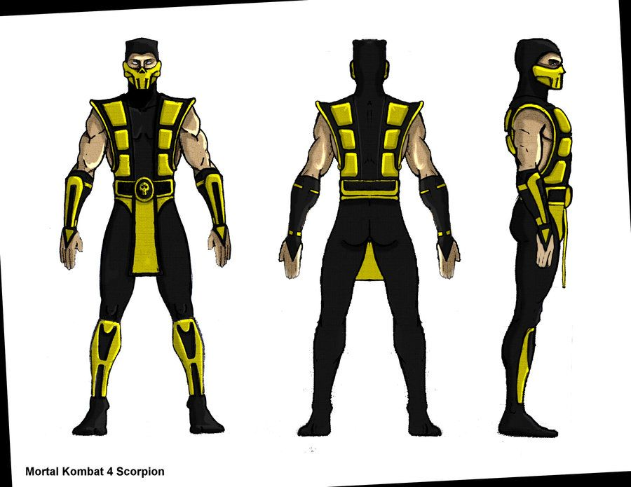 MK4 Scorpion blueprint by hhh316 Graphics Pinterest Characters - new blueprint gene expression