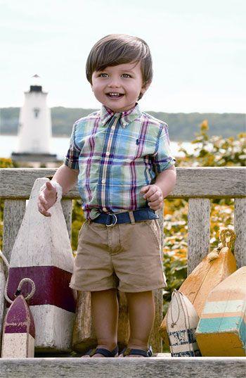 Ralph Lauren Shirt, Shorts & Boat Shoe