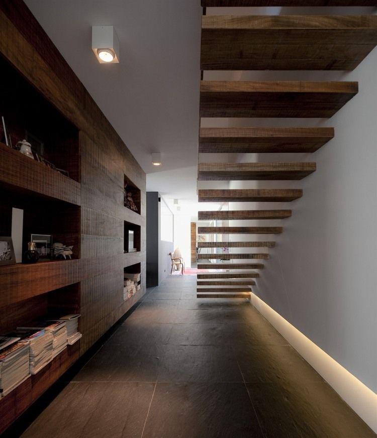 Escaleras Casa Pinterest Escalera, Arquitectos y House - diseo de escaleras interiores