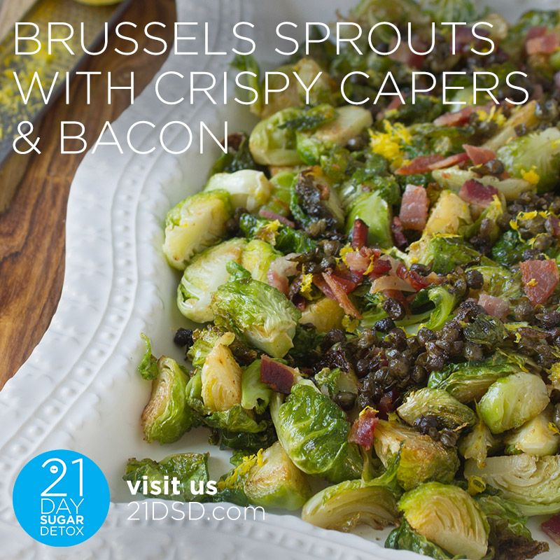 21dsd Recipe Post Square Brussels Sprouts Capers Bacon