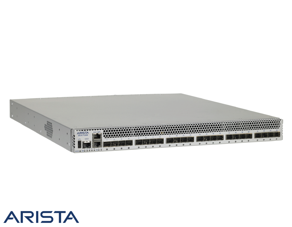 Arista 7124s 24 Port 10gbe Sfp Layer 4 Ethernet Switch Port Layers Mini Speaker