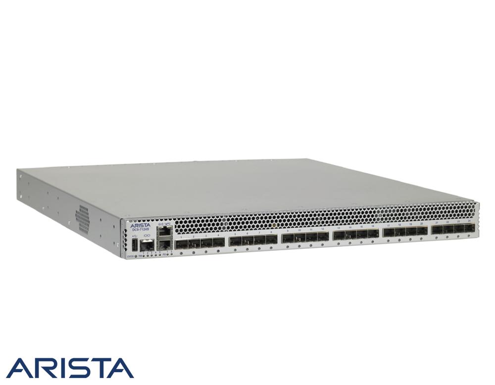 Arista 7124s 24 Port 10gbe Sfp Layer 4 Ethernet Switch Port Layers Mini Speaker