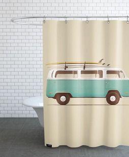 Duschvorhänge Badewannenvorhänge JUNIQE Duschvorhang