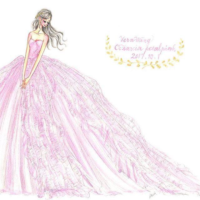 Illustration Dress Fashionillustration Artwork Painting Drawing