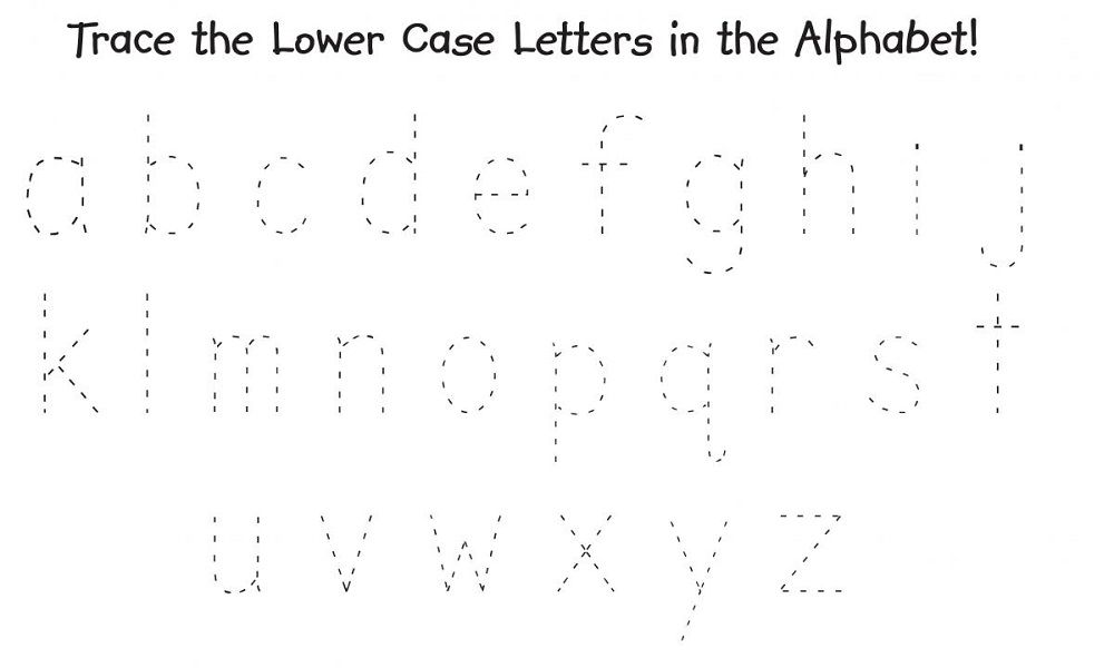 Traceable Alphabet Worksheets A-Z Letter Tracing Worksheets, Alphabet  Writing, Letter Worksheets