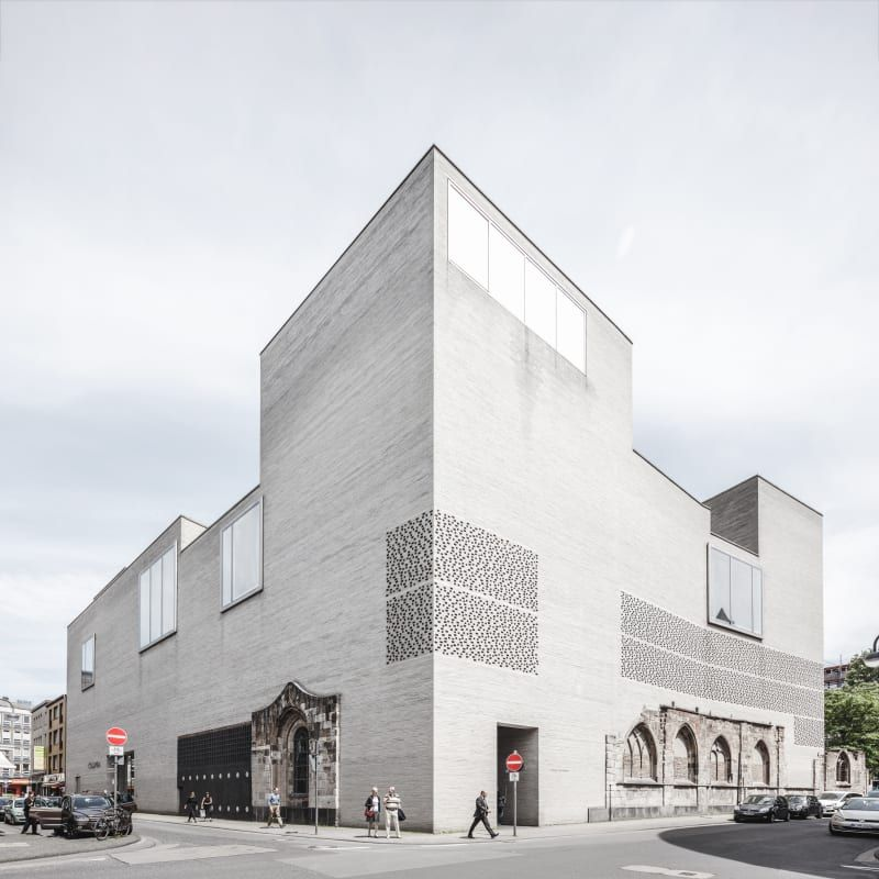 Peter zumthor rasmus hjortsh j kolumba museum zth in - Beruhmte architektur ...