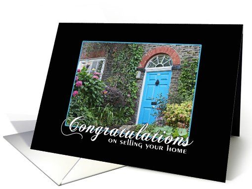 Congratulations on selling your home greeting card designs by congratulations on selling your home greeting card m4hsunfo