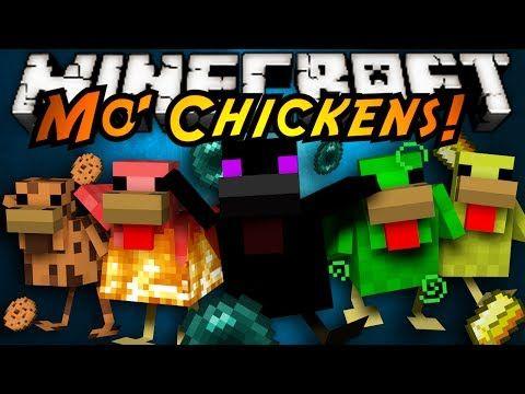 Minecraft Mod Showcase Mo Chickens Skydoesminecraft