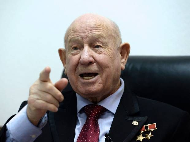 Alexei Leonov: First man to walk in space launches new Science Museum exhibition devoted to Russia's space programme - Europe - World - The Independent 28 May 2015